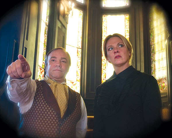 George Saulnier and Lissa Brennan in Prime Stage's Turn of the Screw.