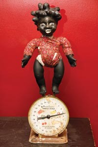 """German calls her signature sculptures """"power figures"""" (and sometimes """"tar babies""""). - HEATHER MULL"""