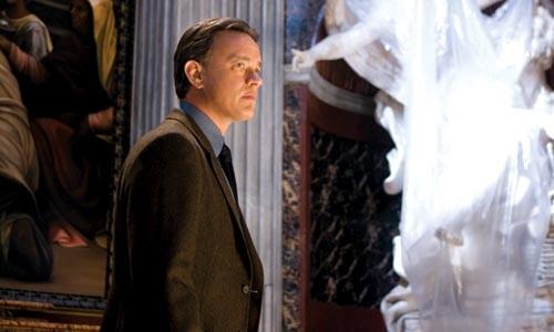 Get me a symbologist! Tom Hanks, on the job.
