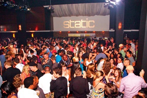 Gettin' nothing but static: Clubbers turn out for Static's opening night