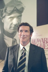 Ghost writer: Clifford Irving (Richard Gere) poses with his elusive subject, Howard Hughes