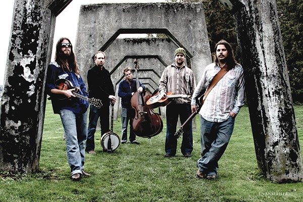 Greensky Bluegrass (Paul Hoffman, left)