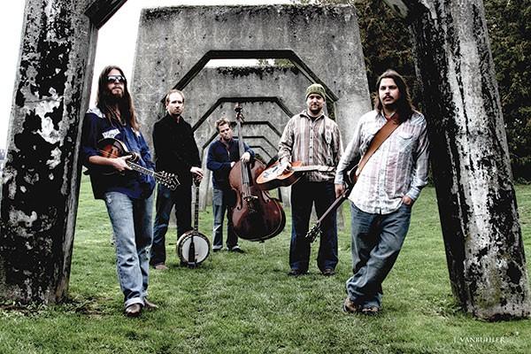 Greensky Bluegrass (Paul Hoffman, left)