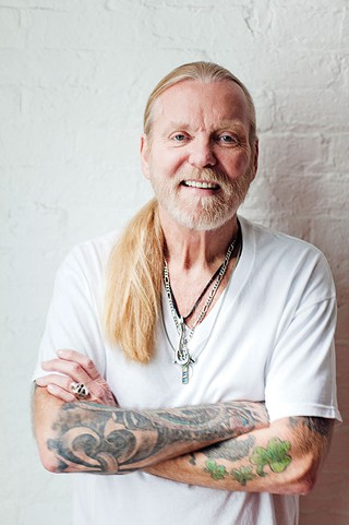 Greg Allman, July 2