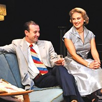 Greg McFadden and Caralyn Kozlowski in <i>Maple and Vine</i>, at City Theatre