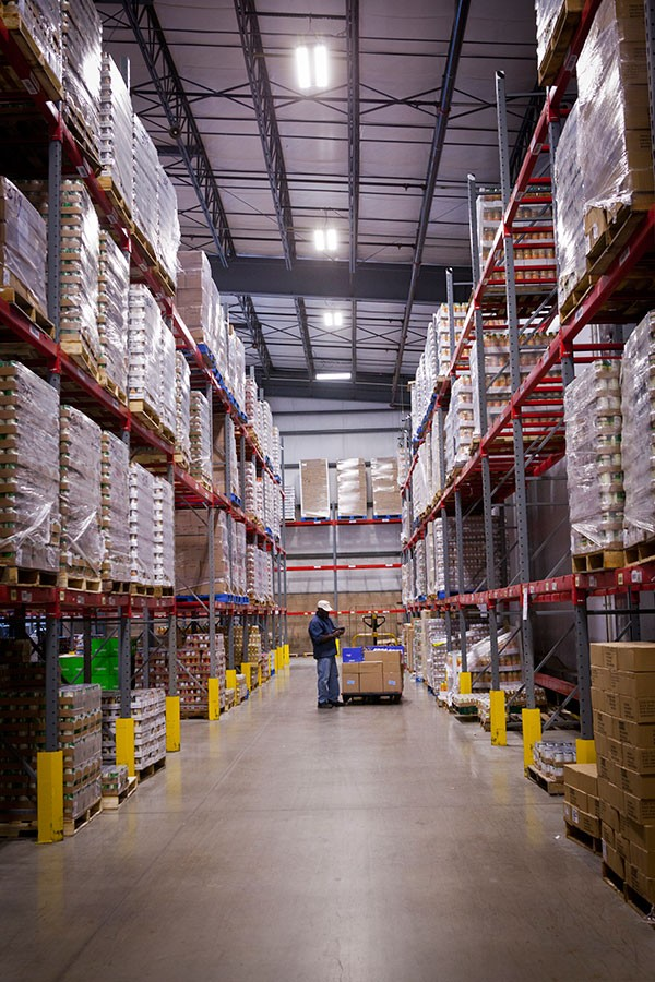 Grocery warehouse