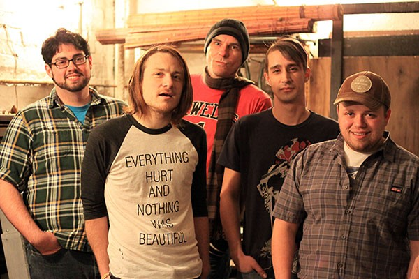 Grunge folk: Kid Durango (from left: Ryan Cunningham, Pete Finnigan, Chris Kintucky, Jed Blazanin, Josh Crusan)