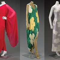 An exhibit at the Warhol traces the parallels between Andy and fashion icon Halston