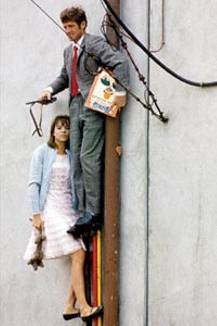 Hang in there, baby: Anna Karina and Jean-Paul Belmondo