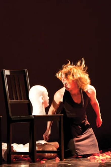 Head games: Pennsylvania Dance Theatre's Por La Blanda Arena. - PHOTO COURTESY OF JOHN ALTDORFER.
