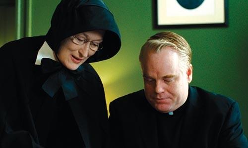 Head to head: Meryl Streep takes on Philip Seymour Hoffman in Doubt