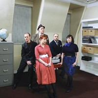 Glaswegians Camera Obscura bring sniffly retro pop to Mr. Small's