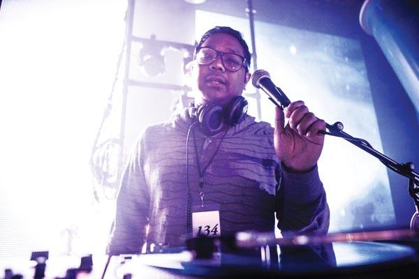 Here to rock the party: DJ Bonics
