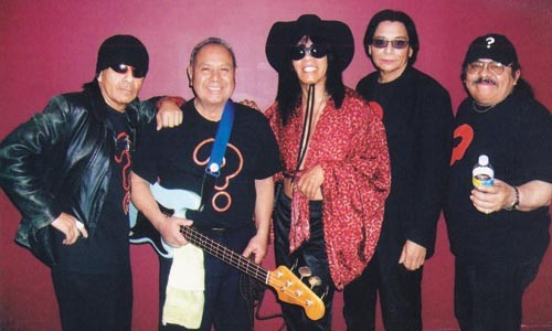 Hermano from another planet: Question Mark (center) with his Mysterians