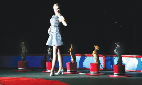 """Highlights from the Gold Unit's """"Boom A Ring"""" production in Erie - HEATHER MULL"""