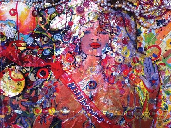 """""""Hillboogie,"""" by Valeria Watson-Doost."""