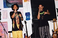 Hip-hop/spoken-word duo Middle East - PHOTO COURTESY OF WILLIAM FEAGINS JR.