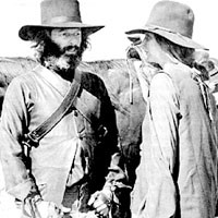 Homeless on the range: Alejandro Jodorowsky (left) on a quest.