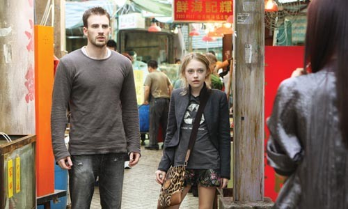 Hong Kong phooey: Chris Evans and Dakota Fanning