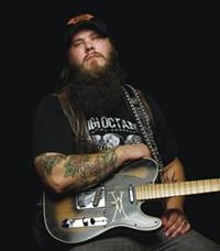 COURTESY OF CLAY ABBOTT - Honky-tonk tattoos: Whitey Morgan