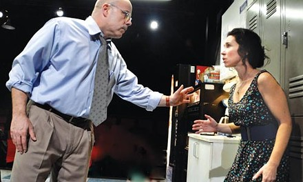 Hurt lockers: Steve Pickering and Robin Abramson in Blackbird, at City Theatre. - COURTESY OF SUELLEN FITZSIMMONS