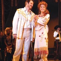 <I>Ich bin ein Berlin-er</I>: Matt Ashford and Jenn Colella in Pittsburgh CLO's <I>Annie Get Your Gun</I>.