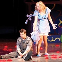 If I ran the circus: Christian Delcroix and Emily Lynne Miller in <i>Seussical the Musical</i> at Pittsburgh Musical Theater