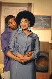 Impression of life: Joshua Elijah Reese and Genna Styles in Pittsburgh Playwrights' Jitney
