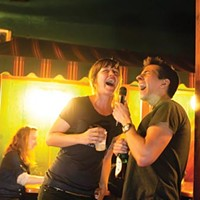 In harmony, at Nico's: Nikki Kemp and Josh Goreczny sing a duet.