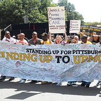 In Oakland, labor fight with UPMC takes to streets in weekend protest