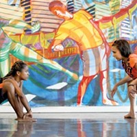 "A ""green mural"" and a ""dance mural"" are new wrinkles in the Moving the Lives of Kids summer art program."