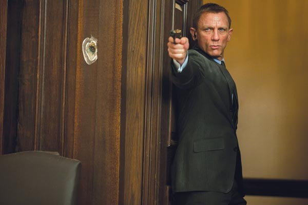 In the 21st century, James Bond (Daniel Craig) needs a new direction.