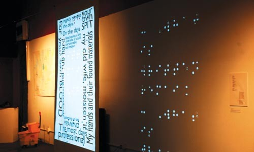 """In touch: Prajna Parasher's """"The Braille of Naming."""" - KATE HANSEN"""