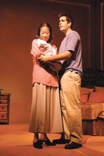 In tune: Pearl Sun (left) and Ben Evans in City Theatre's Long Story Short. - PHOTO COURTESY OF SUELLEN FITZSIMMONS.