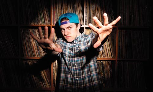 Incoming freshman: Mac Miller at ID Labs Studio - HEATHER MULL
