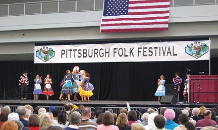 Indefinite hiatus: Copihue Chile performs at the 2008 Pittsburgh Folk Festival - COURTESY OF EMILY PINKERTON