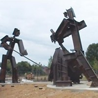 """Industrial Arts Co-op's """"The Workers"""" disappoints as public sculpture."""