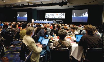 Interconnected: Attendees at an earlier Netroots convention
