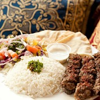 Dijlah Iraqi kebab Photo by Heather Mull