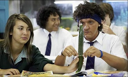 It's Condom 101 for Jonah (Chris Lilley)