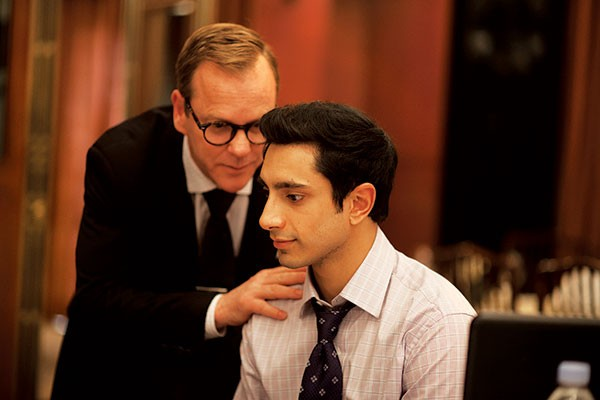 It's just business: Kiefer Sutherland and Riz Ahmed