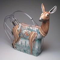 """Jason Walker's sculpture """"Standing in the Grass"""""""