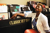Jazz + Hip Hop series, poet MaVe Sami