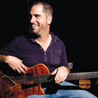 Charlie Hunter brings his wide-ranging style and unique instrument to Club Café