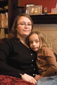 Jennifer England, pictured here with daughter Riley Belden-England. - HEATHER MULL