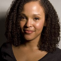 Jesmyn Ward speaks Monday at Carnegie Music Hall