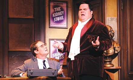 Jim Stanek and John Treacy Egan in Pittsburgh CLO's The Producers - COURTESY OF MATT POLK