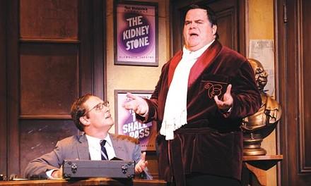 Jim Stanek and John Treacy Egan in Pittsburgh CLO's The Producers - COURTESY OF MATT POLK