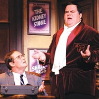 Jim Stanek and John Treacy Egan in Pittsburgh CLO's <I>The Producers</I>