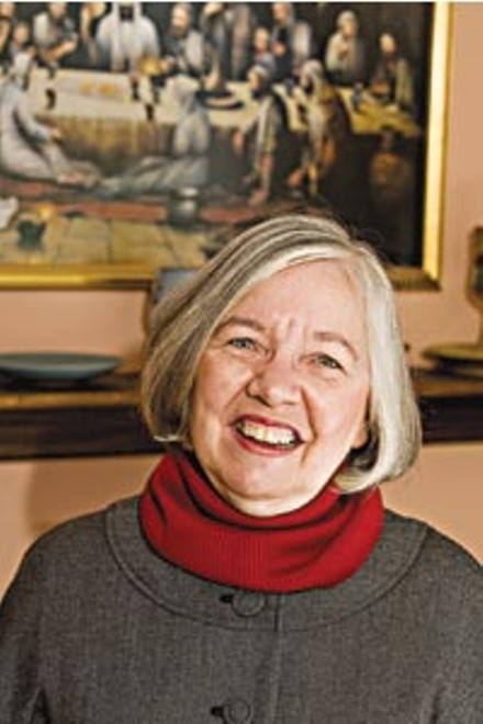"""Joan Houk is """"still in love"""" with Catholicism despite her misgivings. - BRIAN KALDORF"""